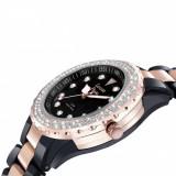Ceas Louise Pearl #3 black rose - Ceas dama, Quartz