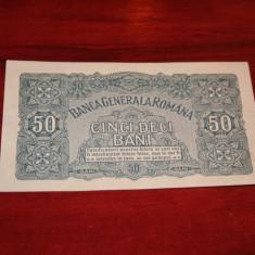 Romania - 50 bani 1917 UNC - Bancnota romaneasca