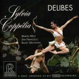Martin West & San Franciso Ballet Orchestra - Delibes: Sylvia, Coppelia ( 1 HDCD )