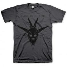 Tricou Alice in Chains - Black Skull