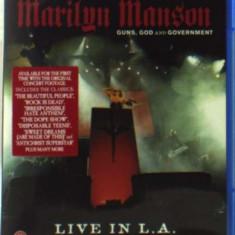 Marilyn Manson - Guns, God and Govemment.. ( 1 BLU-RAY ) - Muzica Pop