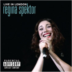 Regina Spektor - Live in London ( 1 CD + 1 DVD ) - Muzica Corala
