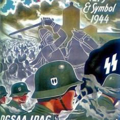 Poster Vintage - Propaganda de razboi, Germania 1944 - Afis