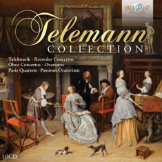 G.P. Telemann - Collection ( 10 CD ) - Muzica Clasica