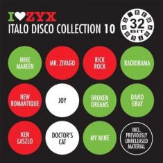 Artisti Diversi - I Love ZYX - Italo Disco Collection 10 ( 3 CD ) - Muzica Dance