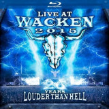 V/A - Live At Wacken '15 ( 1 BLU-RAY + 1 CD )