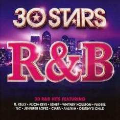 Artisti Diversi - 30 Stars: R&B ( 2 CD ) - Muzica R&B