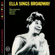 Ella Fitzgerald - Sings Broadway (+Rhythm Is My Business) ( 1 CD ) - Muzica Corala