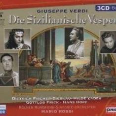 G Verdi - Die Sizilianische Vesper ( 3 CD ) - Muzica Clasica