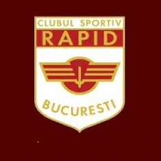 Emblema textila pentru tricouri CLUB SPORTIV RAPID Bucuresti