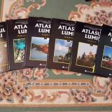 ATLASUL LUMII, Enciclopedia GEOGRAFICA a Familiei, 6 volume, noi! - Carte Geografie