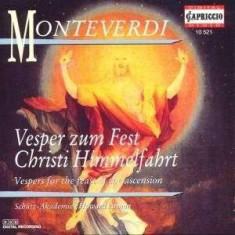 C. Monteverdi - Vesper/Zum Fest Christi Himmel ( 1 CD ) - Muzica Clasica