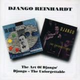 Django Reinhardt - Artof Django/ Unforgettab ( 2 CD )