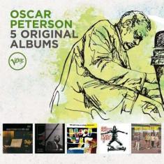 Oscar Peterson - 5 Original Albums ( 5 CD ) - Muzica Jazz