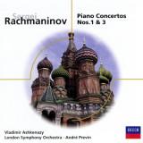 Sergei Rachmaninov - Piano Concertos Nos. 1 & 3 ( 1 CD ) - Muzica Clasica