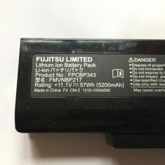 BATERIE FUJITSU SIEMENS LIFEBOOK NH532 FPCBP343 11, 1V 5200MAH FUNCTIONALA - Baterie laptop Fujitsu Siemens, 6 celule