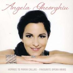 Angela Gheorghiu - Homage to Maria Callas ( 1 CD ) - Muzica Opera