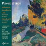 V. D'indy - Wallenstein/Choral varie/Saugefleurie/Lied ( 1 CD )