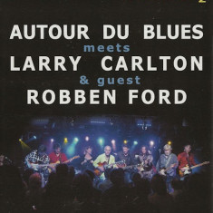 Artisti Diversi - Autour Du Blues Meets Larry Carlton & Guest Robben Ford ( 1 DVD ) - Muzica Pop