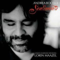 Andrea Bocelli - Sentimento ( 1 CD ) - Muzica Opera