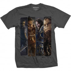 Tricou Warcraft - Character Slice