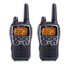 Aproape nou: Statie radio PMR/LPD portabila Midland XT70 set cu 2 buc. gri metalic