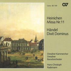Heinichen/Handel - Missa 11/Dixit Dominus ( 1 CD ) - Muzica Clasica