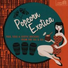 V/A - Popcorn Exotica: R&B.. ( 1 CD ) - Muzica R&B