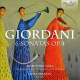 T. Giordani - 6 Sonatas Op.4 ( 1 CD )