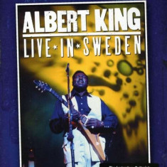 Albert King - Live In Sweden ( 1 DVD ) - Muzica Blues