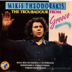 Mikis Theodorakis - Troubadour From Grece ( 1 CD ) - Muzica Folk