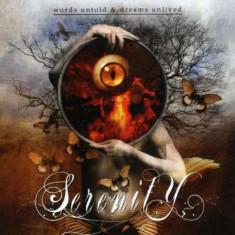 Words Untold & Dreams Unlived - Words Untold & Dreams Unlived ( 1 CD ) - Muzica Rock