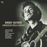 Woody Guthrie - American Folk Legend ( 2 VINYL )