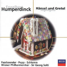 E. Humperdinck - Hansel& Gretel.. ( 1 CD ) - Muzica Clasica