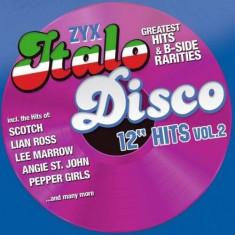 V/A - Zyx Italo Disco 12 Hits.. ( 2 CD ) - Muzica Dance
