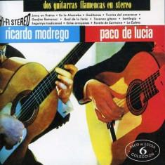 Paco De/Montenegro Lucia - Dos Guitarras Flamencas.. ( 1 CD ) - Muzica Latino