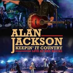 Alan Jackson - Keepin' It Country -.. ( 1 DVD ) - Muzica Country