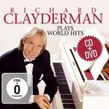 Richard Clayderman - Plays World Hits ( 2 CD + 1 DVD )