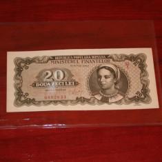 Romania - 20 lei 1950 aUNC !! P(34) - Bancnota romaneasca