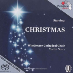 Winchester Cathedral Choi - Starring: Christmas ( 1 SACD ) - Muzica Clasica