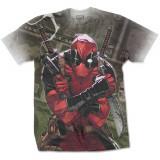 Tricou Deadpool - Cash -Dye Sub-