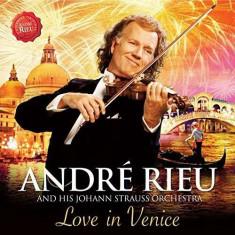 Andre Rieu - Love in Venice ( 1 CD + 1 DVD ) - Muzica Opera