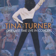 Tina Turner - One Last Time In Concert ( 1 DVD )
