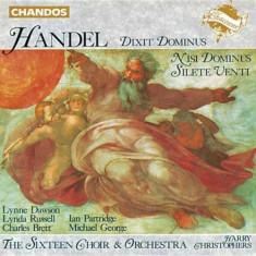 G.F. Handel - Dixit Dominus/Sileti Venti ( 1 CD ) - Muzica Clasica