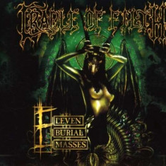 Cradle of Filth - Eleven Burial Masses ( 1 CD + 1 DVD ) - Muzica Rock
