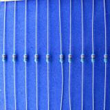 10 buc * Rezistor 220Ω 220ohm 1/4W 0.25W 1% Rezistori Rezistenta Metal Film