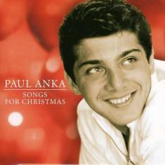 Paul Anka - Songs For Christmas ( 1 CD ) - Muzica Sarbatori