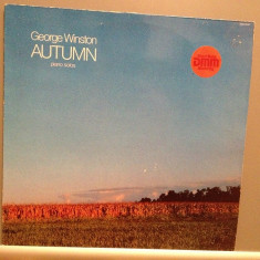 GEORGE WINSTON - AUTUMN - PIANO (1980/WINDHAM HILL/RFG) - Vinil/Impecabil (NM) - Muzica Ambientala universal records