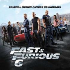 OST - Fast And The Furious 6 ( 1 CD ) - Muzica soundtrack
