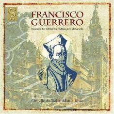 F. Guerrero - Allerheiligen Vesper/Missa Pro Defunctis ( 1 CD ) - Muzica Clasica